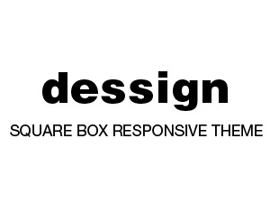 Square Box Responsive Theme WordPress blog theme