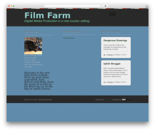 Swatch best WordPress template - filmfarm.org