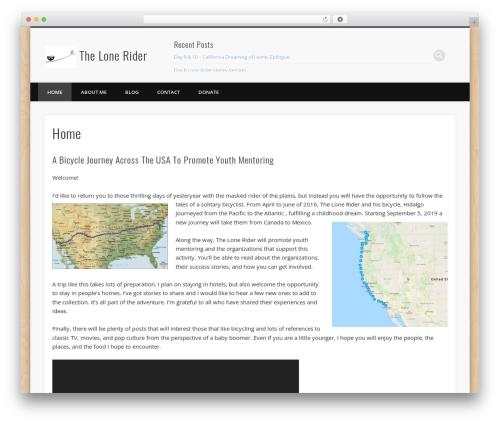 Free WordPress Theme My Login plugin - thelonerider.bike