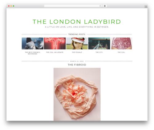 Free WordPress Email Subscription plugin - thelondonladybird.co.uk