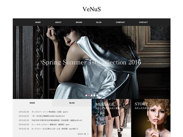 VENUS WP template