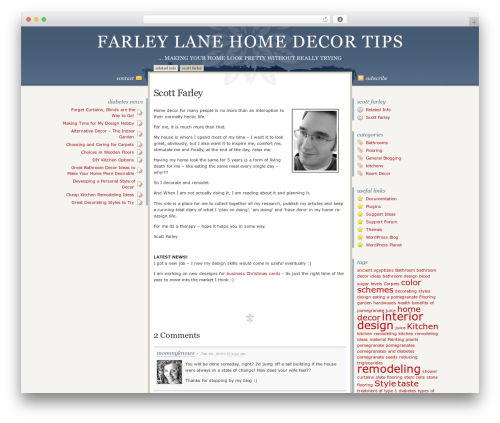 WordPress theme Disciple - farleylane.co.uk