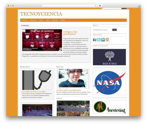 WordPress theme PRiNZ BranfordMagazine PRO - tecnoyciencia.com