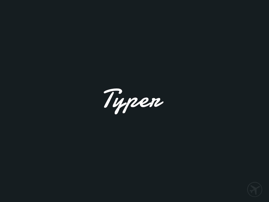 WordPress theme Typer