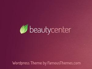 WP theme Beauty Center Wordpress Theme