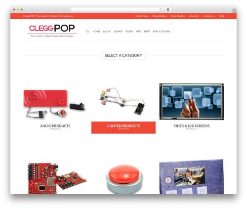 Flatsome WordPress theme - cleggpop.com