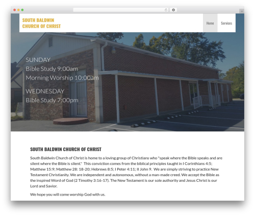 Primer WordPress theme download - churchofchristsouthbaldwin.org