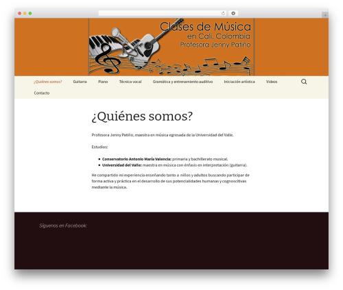 Twenty Thirteen WordPress theme download - clasesmusicacali.com