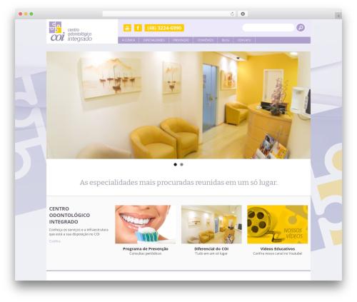 WordPress template Yasmin - coi-sc.com.br