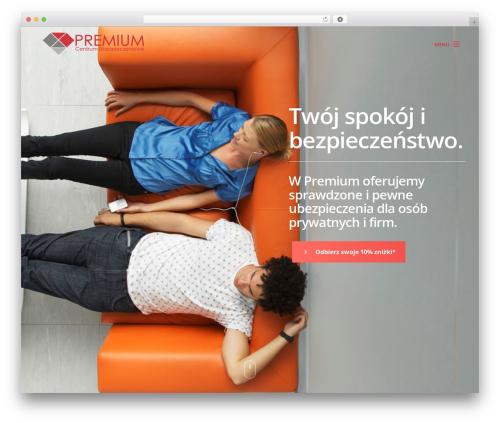 WordPress website template Werkstatt - cupremium.eu