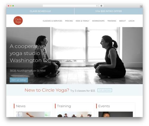 Free WordPress Slick Sitemap plugin - circleyoga.com