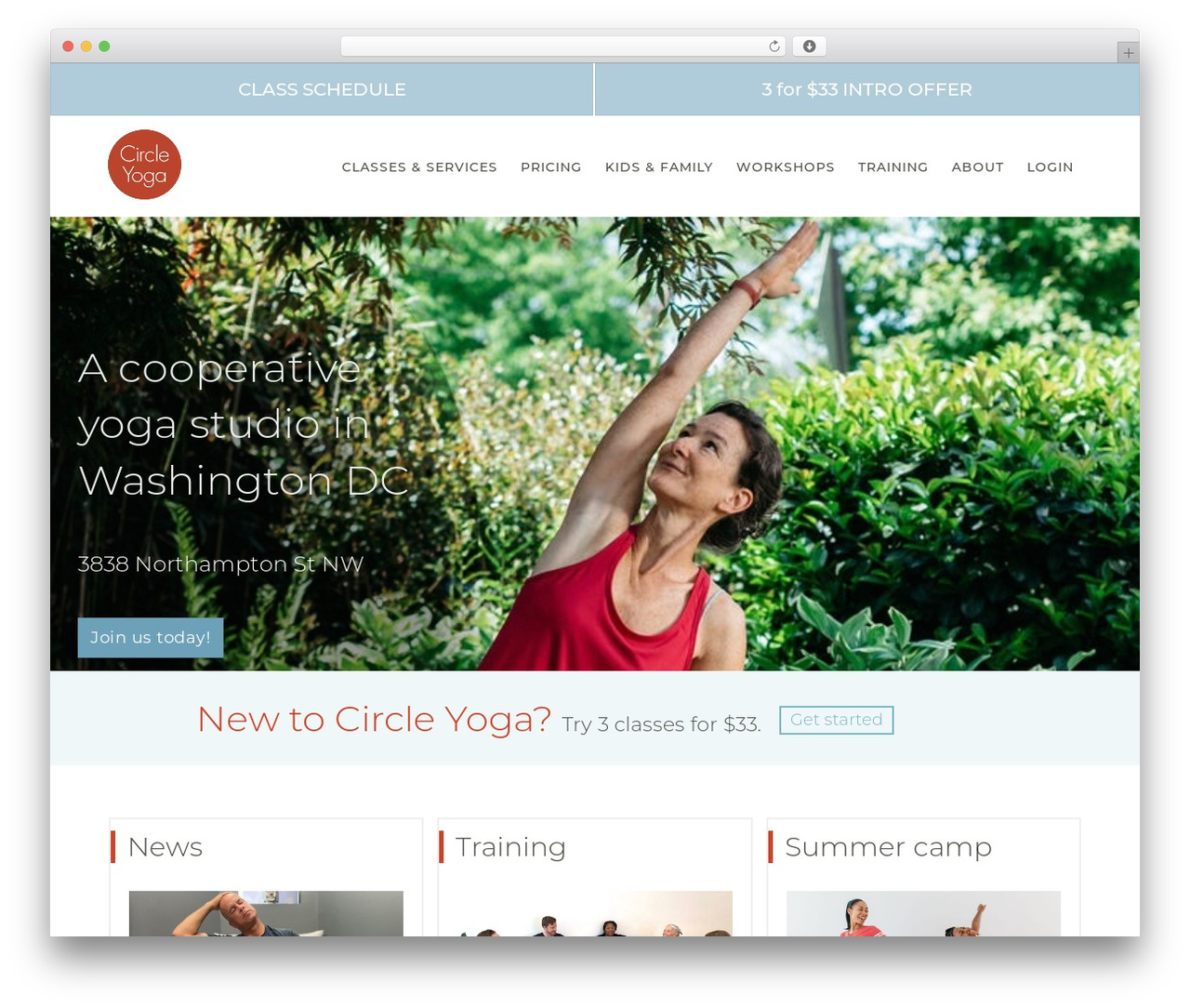 Best WordPress theme Beaver Builder Theme - circleyoga.com
