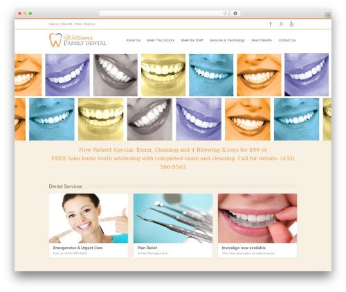INOVADO WordPress theme - cedardentist.com