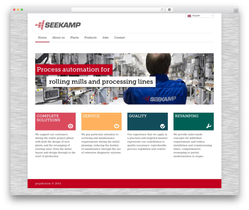 Quare WordPress theme - cse-seekamp.de