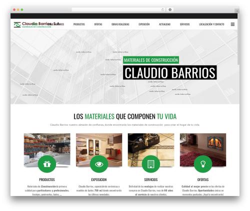Subway WordPress theme - claudiobarrios.com