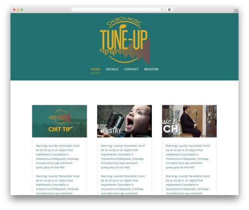 Theme WordPress Extra - churchmusictuneup.com