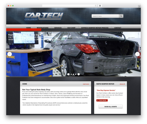Theme WordPress Radial Premium Theme - car-techcollision.com