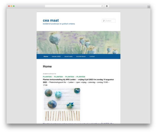 Free WordPress Twenty Eleven Theme Extensions plugin - ceadesign.nl