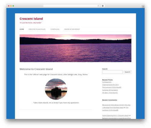 Free WordPress Cookies for Comments plugin - crescentisland.org