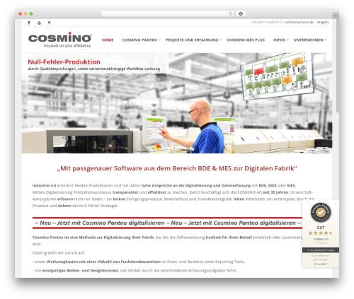 WordPress theme Cosmino - cosmino.de