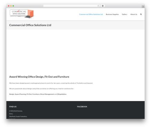 WordPress theme Ultra - commercialofficesolutions.co.uk