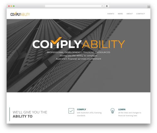 WordPress theme Wp Haswell - complyability.com.au