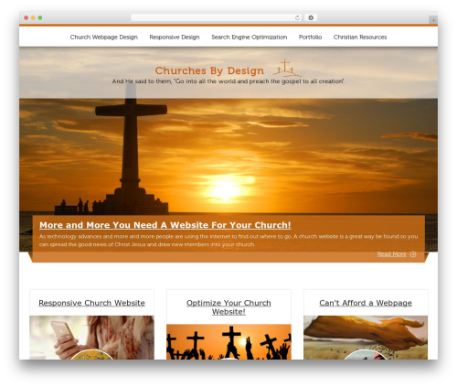 ButterBelly theme free download - churches-by-design.com
