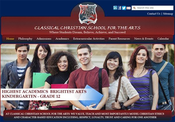 Classical Christian School WordPress theme