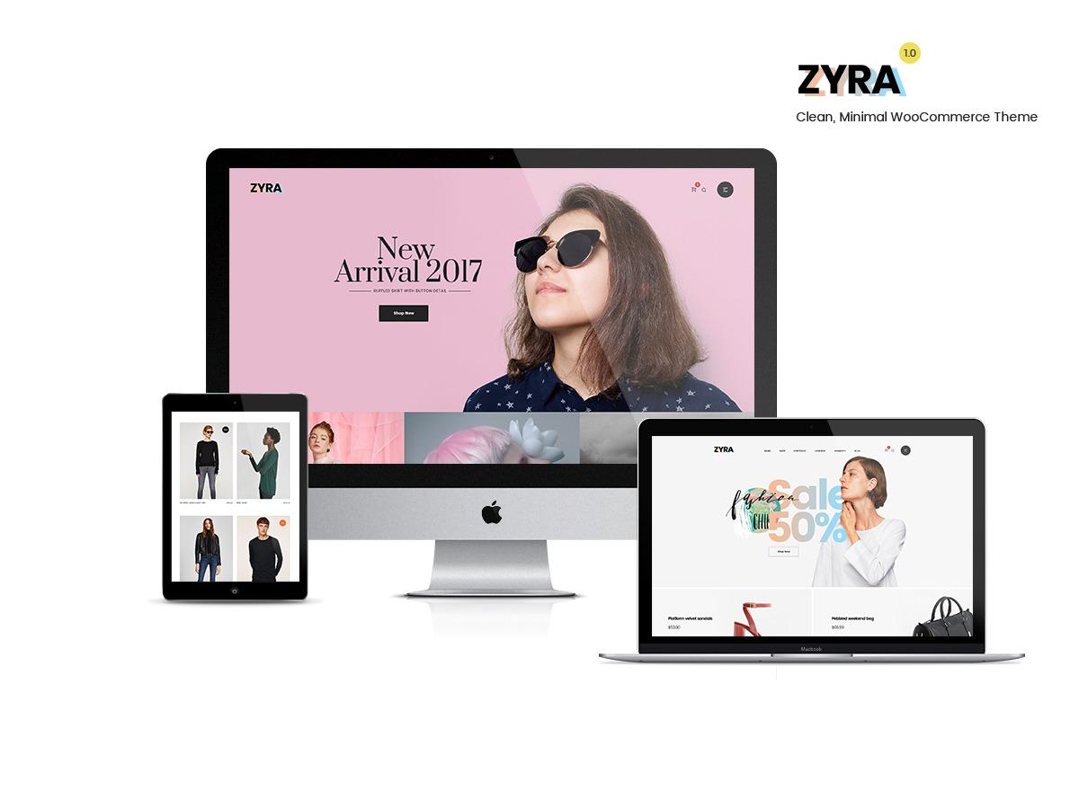 LA Zyra WordPress ecommerce template