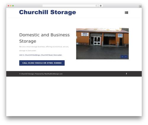 Micron top WordPress theme - churchillstorage.co.uk