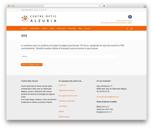 Theme WordPress Pinpoint - centreopticalzuria.com