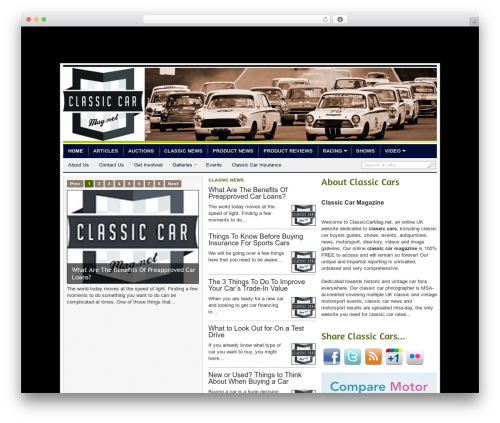 Theme WordPress transcript - classiccarmag.net