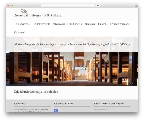 Vantage template WordPress free - cserealja.ro