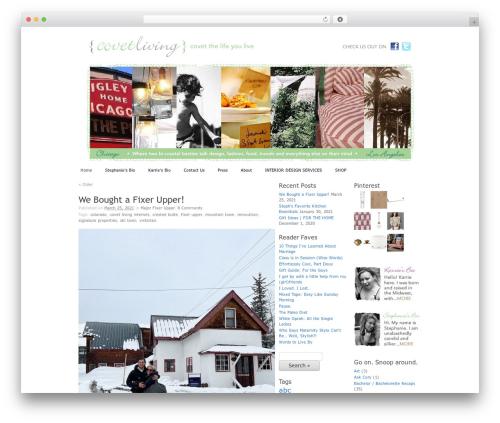 WordPress my-pinterest-badge plugin - covetliving.com