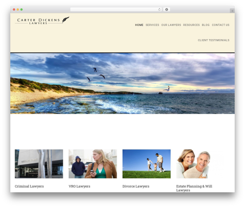 WordPress theme Minimum Pro Child 001 - cdlawyers.com.au