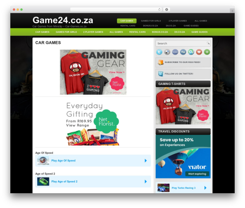 Free WordPress Miniclip Games Arcade plugin - car-games.co.za