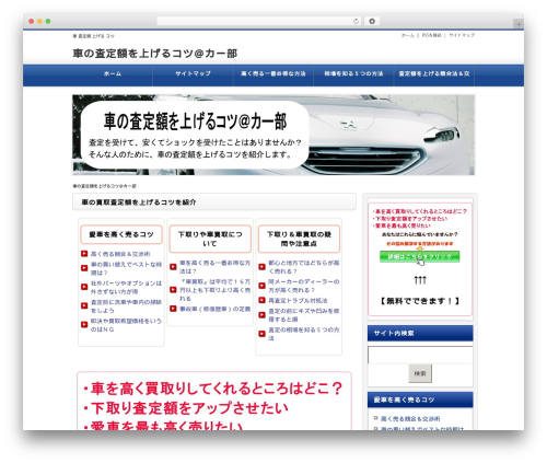 WP theme Unlimited Template 「Neo」 - car-assessment-knack.com