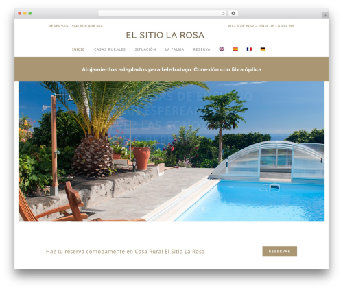 Bridge theme WordPress - casaruralelsitiolarosa.com