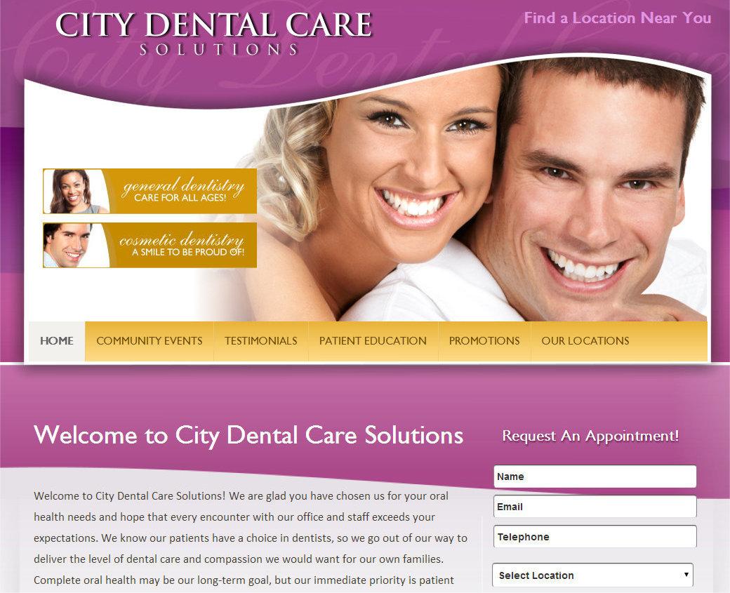 citydentalcaresolutions WordPress theme