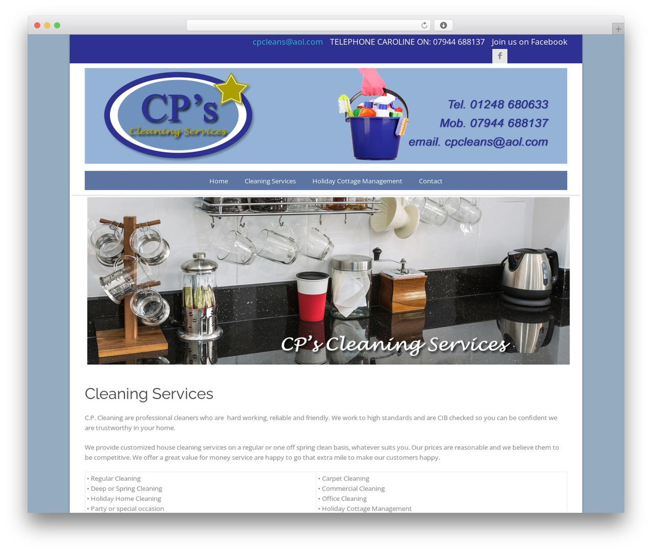 cp WordPress template - cpcleaning.co.uk