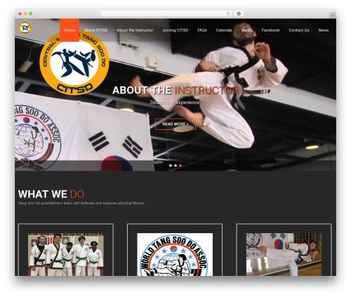 SKT Fitness Pro gym WordPress theme - citangsoo.com