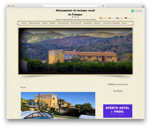 Free WordPress Contact Form Manager plugin - casarurallatrampa.com