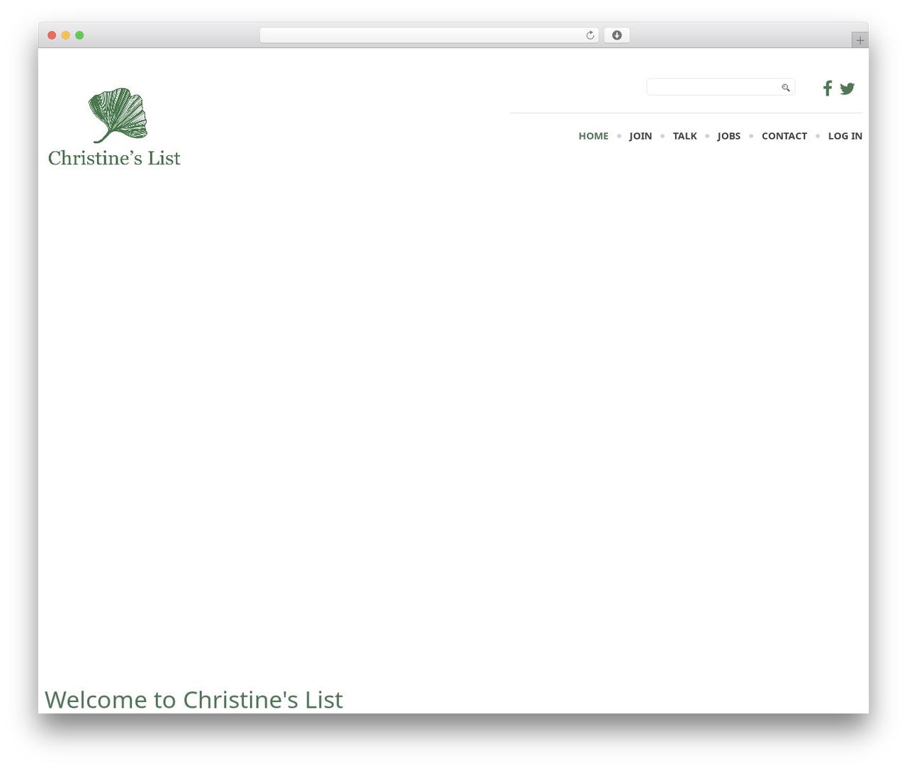 WP template cherry - christineslist.org