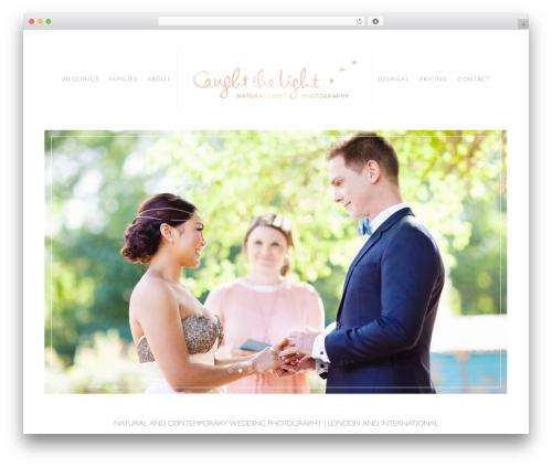 REBECCA WordPress theme image - caughtthelight.com