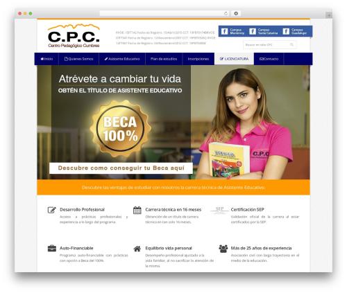 Theme WordPress Nevia - cpcedu.org