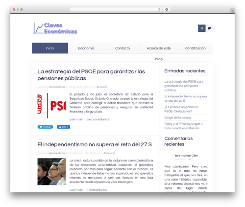 Theme WordPress Unity - claveseconomicas.es