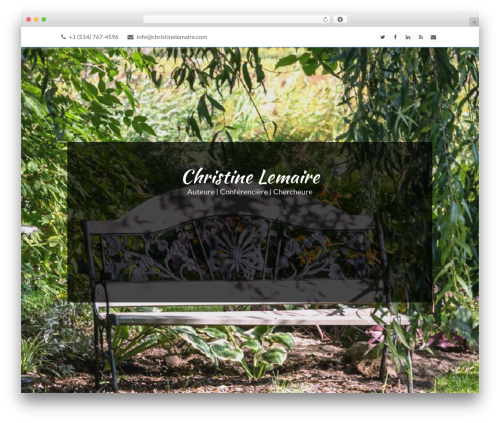 Total WordPress template free download - christinelemaire.com