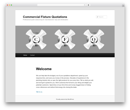 Twenty Eleven free WordPress theme - commercialfixturequotations.com