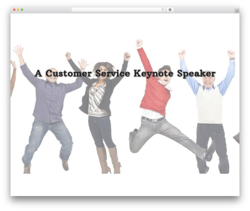 WordPress theme Divi - customerservicekeynote.christinespeaks.com