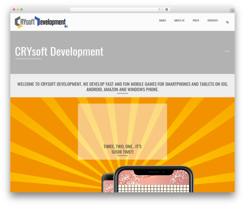 Applay WordPress theme - crysoftdev.com